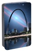 When The Galaxy Came To St. Louis Portable Battery Charger