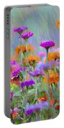 Where Have All The Flowers Gone Portable Battery Charger
