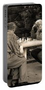 Where Is Bobby Fischer Portable Battery Charger by Madeline Ellis