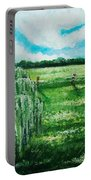 Where The Green Grass Grows Portable Battery Charger