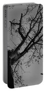 Silhouette Trees Portable Battery Charger