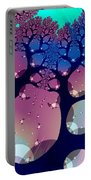 Whimsical Forest Portable Battery Charger