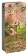 Whispering Cherry Blossoms Portable Battery Charger