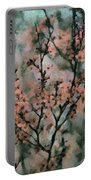 Whispering Cherry Blossoms Portable Battery Charger by Janice MacLellan