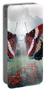 White Admiral Waltz Portable Battery Charger