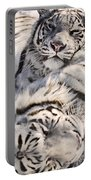 White Bengal Tigers, Forestry Farm Portable Battery Charger