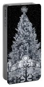 White Christmas In Texas Portable Battery Charger