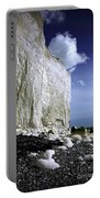 White Cliffs At Birling Gap Portable Battery Charger