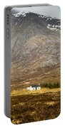 White Hut Under Stob Dearg Portable Battery Charger