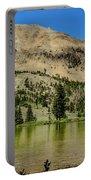 White Knob Mountain Lake Portable Battery Charger