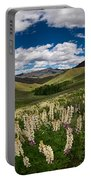 White Lupine Portable Battery Charger