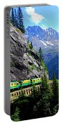 White Pass And Yukon Route Railway In Canada Portable Battery Charger