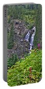 White Pearl Waterfall Vert Portable Battery Charger