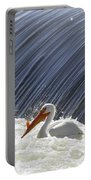 White Pelican Over The Dam Portable Battery Charger