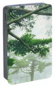 White Pine Trees, Wisconsin, Usa Portable Battery Charger