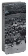 White Roe Lake Hotel-catskill Mountains Ny Portable Battery Charger