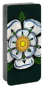 White Rose Of York Portable Battery Charger