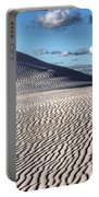 White Sands Patterns Portable Battery Charger