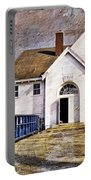 White School 1929 - Lawrence Kansas Portable Battery Charger