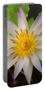 White Star Lotus Portable Battery Charger