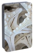 White Starfish Portable Battery Charger