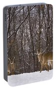 White Tailed Deer Portable Battery Charger