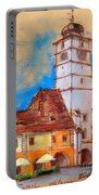White Tour In Sibiu Portable Battery Charger