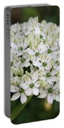 White Umbel Portable Battery Charger