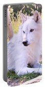 White Wolf Taking It Easy Portable Battery Charger