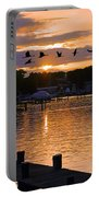 White's Cove Silhouette Portable Battery Charger