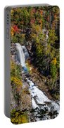 Whitewater Falls With Rainbow Portable Battery Charger