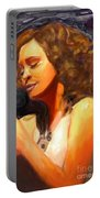 Whitney Gone Too Soon Portable Battery Charger