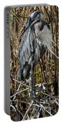 Who Is There - Great Blue Heron Portable Battery Charger