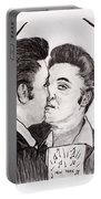 Elvis Who Loves Ya Baby? Portable Battery Charger