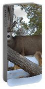 Who Me?  Oh Deer Portable Battery Charger