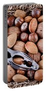 Whole Nuts In A Basket Portable Battery Charger