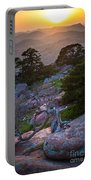 Wichita Mountains Sunset Portable Battery Charger