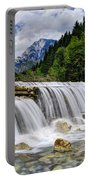 Wide Waterfall Portable Battery Charger