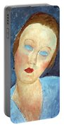 Wife Of The Painter Survage Portable Battery Charger by Amedeo Modigliani