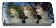 Wig Shop Window Portable Battery Charger