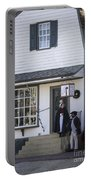 Wigmaker And Barber Shop Williamsburg Virginia Portable Battery Charger