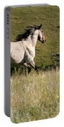 Wild Appaloosa Running Away Portable Battery Charger