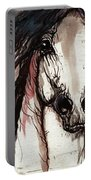 Wild Arabian Horse Portable Battery Charger