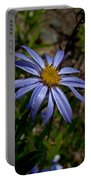 Wild Aster Flower Portable Battery Charger
