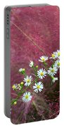 Wild Asters And Muhly Grass Portable Battery Charger