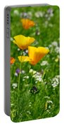 Poppies 3 - Wild At Heart Portable Battery Charger
