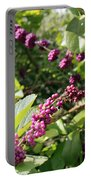 Wild Beautyberry Bush Portable Battery Charger