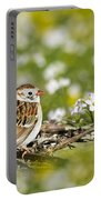 Wild Birds - Field Sparrow Portable Battery Charger