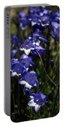 Wild Blue Bells Portable Battery Charger