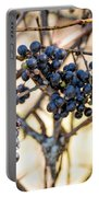 Wild Blue Grapes Portable Battery Charger